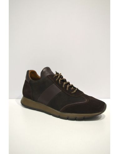 Dark Brown Leather Casual shoe