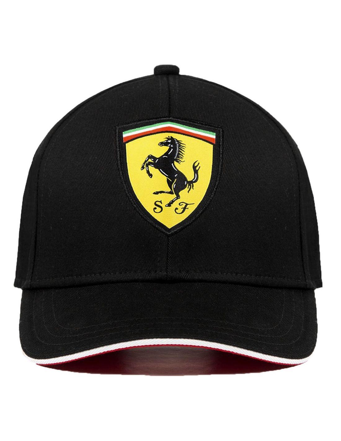 Ferrari Scuderia Baseball Cap Black